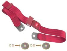 1964-72 PONTIAC GTO SEAT BELT - RED - 60 INCHES
