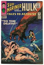 Tales to Astonish # 80 Hulk & Sub-Mariner! Sharp Vf! Lee & Kirby! Low A$K!