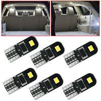10* 12V T10 194 168 W5W SMD LED Car HID White.CANBUS Error Free Wedge Light Bulb