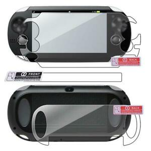 Front Screen Tempered TPU With Rear Plastic Film Protector For PS Vita 1000