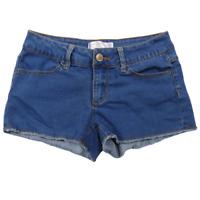 No Boundaries Blue Denim Stretchy Shorts Junior's Size 5