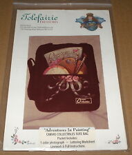 "Roxanne Jarvis ""Adventures"" Canvas Bag Tole Painting Pattern Pack"