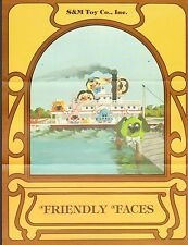 VINTAGE AD SHEET #999 -  SM TOYS - FRIENDLY PLACES