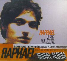 Raphael : Je sais que la terre (CD & DVD)