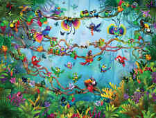 Bird's Paradise-Wall Mural-10.5'wide by 8'high