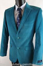 AQUASCUTUM PRITCHARD Cord Jacket Green/Blue 38 RRP £375 BNWT
