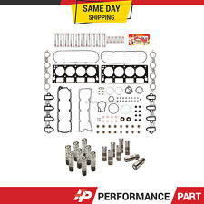 Head Gasket Set Head Bolts Lifters for 05-13 Cadillac Chevrolet GMC Hummer AFM