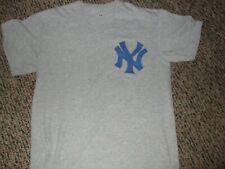 Derek Jeter # 2 New York Yankees Baseball Tee Shirt Medium