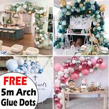Balloon Arch Kit +Balloons Garland Birthday Wedding Party Baby Shower Decor UK