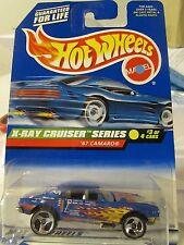 Hot Wheels '67 Camaro X-Ray Cruiser Series Blue 3 sp