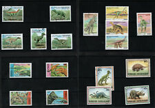 Dinosaurs & Prehistoric Animals 4 Full Sets Postage Stamps Collection Lot 1