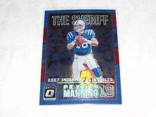 2016 Donruss Optic PEYTON MANNING #10 THE SHERIFF Red Variant/99 BRONCOS Colts