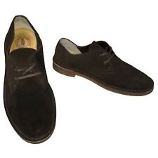 CLARKS Originals Mens Desert Shoes Brown Suede Size 8 UK Low Lace Up Shoes