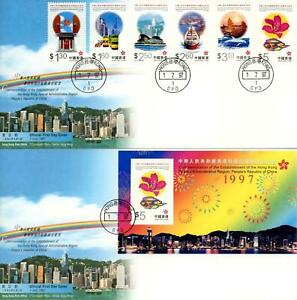 Hong Kong 1985 to 1997 Collection of 60 x FDC's, LOOK!