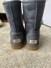 Genuine Blue Furry Ugg Boots Size UK 8 in Superb Condition