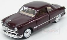 Ford Usa Coupe 1949 Bordeaux MotorMax 1:24 MTM73213BX