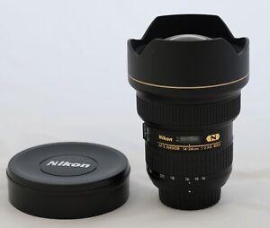 Nikon AF-S NIKKOR 14-24mm f/2.8 G ED F2.8. Excellent condition - used.