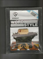 New Sealed WORD STYLE Programme On 3 Inch Disc For The AMSTRAD CPC Computers