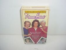 Jenny Craig Personal Fitness Let's Get Started Beginners Workout VHS Tape
