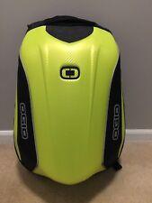 OGIO No Drag Mach 5 Motorcycle Backpack Green/Black