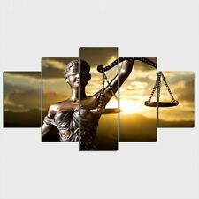 Goddess Of Justice 5 piece HD Art Poster Wall Home Decor Canvas Print
