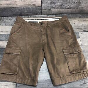 Men's Crew Clothing Khaki Cotton Cargo/Combat Shorts Size XXL - 42 Waist