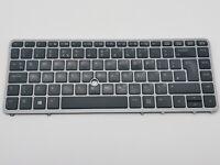 HP Elitebook 840 G1 G2 850 G1 G2 Keyboard Key Backlit UK Free 2nd Class P&P