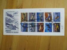 Briefmarken mit Luftfahrt-Motiven aus den USA