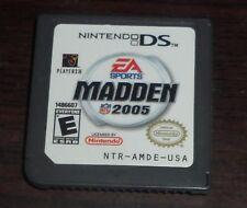 Nintendo DS. Madden 2005. NTR-AMDE-USA