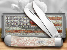 CASE XX Pink Pearl Large Trapper Pocket Knives Knife
