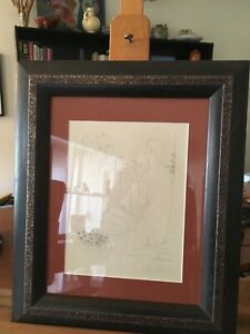 Set of 5 framed Picasso prints Vollard Suite, pencil signed & authenticated