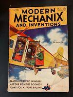 VTG October 1932 MODERN MECHANIX Magazine
