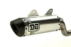 DG Kawasaki KLX 250 DG V2 Slip On Exhaust, Pipe, Muffler, Silencer 071-8260
