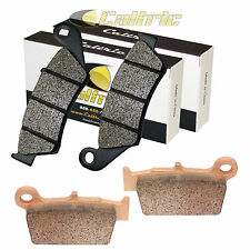 FRONT REAR BRAKE PADS YAMAHA YZ450 YZ450F 50TH ANNIVERSARY 2003-2006 FRONT REAR