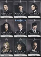 DC Gotham: Season 1 - COMPLETE Character Bios Chase 15 Card SET #C1-15