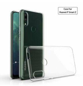 Huawei P Smart Z Silikon Hülle Silicon Case Schutzhülle Hülle Schale TPU