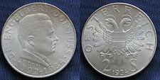 MONETA COIN AUSTRIA REPUBLIK ÖSTERREICH 2 SCHILLING 1934 ARGENTO SILVER  #2