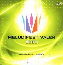 2 CD Melodifestivalen 2008, Eurovision, schwedisch