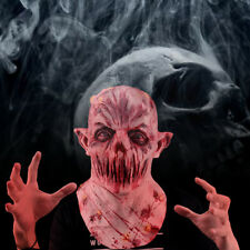 Living Dead Zombies Scary Cosplay Mask Costume Props Helmet Horror Vampire Trick