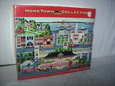 "ROSEART HOMETOWN COLLECTION 1000 PC. PUZZLE ""DOWNTOWN"" BY hEROMIN"