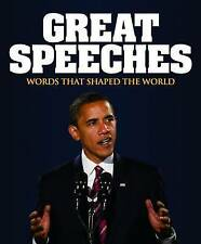 Great Speeches: Words That Shaped the World, 1848372922, Very Good Book