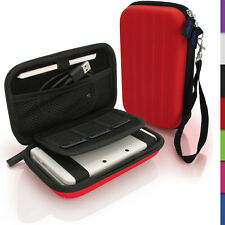 Red EVA Hard Carry Case Cover for New Nintendo 3DS Travel Sleeve Bag Pouch