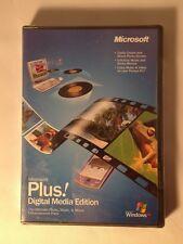 Microsoft Plus Digital Media Edition Ultimate Photo Music Movie Enhancement Pack