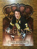 2010-11 Panini Crown Royale Regents - PHIL ESPOSITO #101 Boston Bruins /499