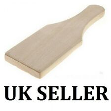 Wooden Paddle Carving Figurine Flat Clay Pottery Manufacture Tools UK SELLER