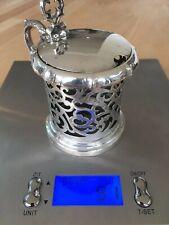 Antike silber, antique silver, mustard pot, Brahmfeld & Gutruf, Hamburg, VGC