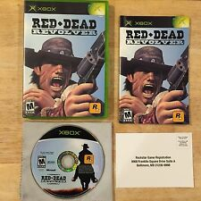 Red Dead Revolver Original Microsoft Xbox System Complete Game