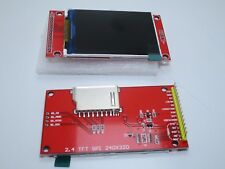 "Display grafico lcd TFT 2,4"" 240x320 SPI ILI9341 5V con lettore SD no touch"