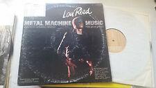 LOU REED METAL MACHINE MUSIC ORIG 2 LP VINYL '75 locked groove loop gatefold VU!