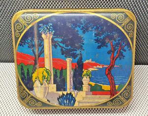 Antique Box Metal IN Iron Art Deco THE ALUTOL Villeneuve St Georges Collection
